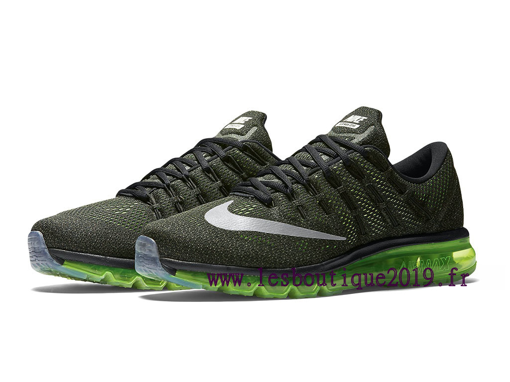 save off 08cae cea1d ... Running Nike Air Max 2016 Men´s Nike Prix Shoes Black Green 806771 013  ...