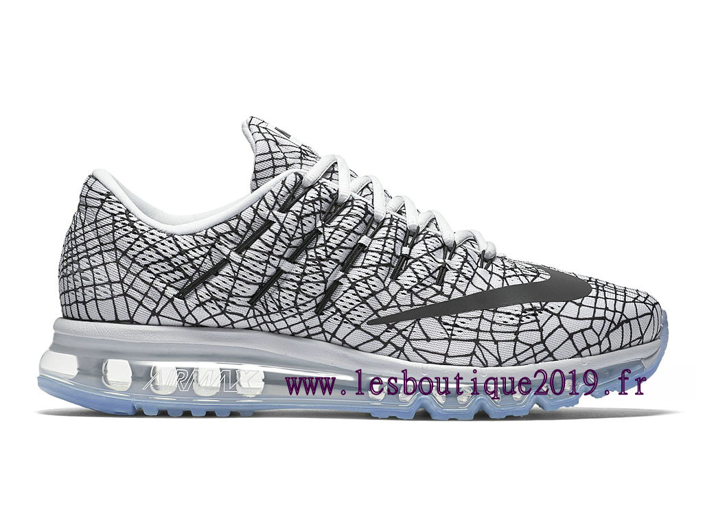 Running Nike Air Max 2016 Print Men´s Nike BasketBall Shoes White Black 818135_001