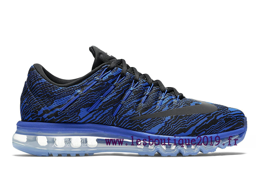 Running Nike Air Max 2016 Print Men´s Nike BasketBall Shoes Blue Black 818135_400