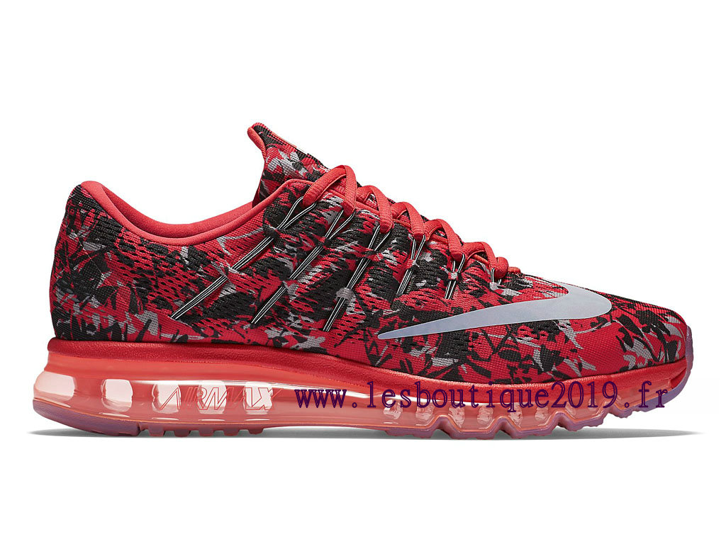 Running Nike Air Max 2016 Print Men´s Nike BasketBall Shoes Red White 818135_600