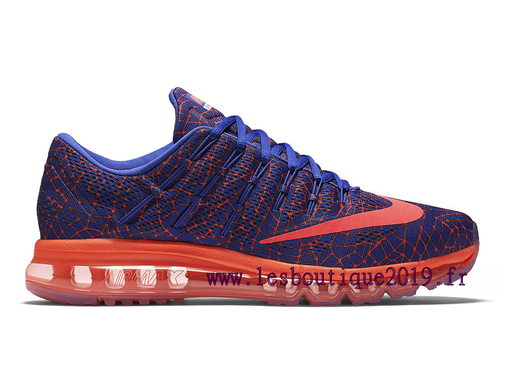 Running Nike Air Max 2016 Print Men´s Nike BasketBall Shoes Red Blue 818135_402